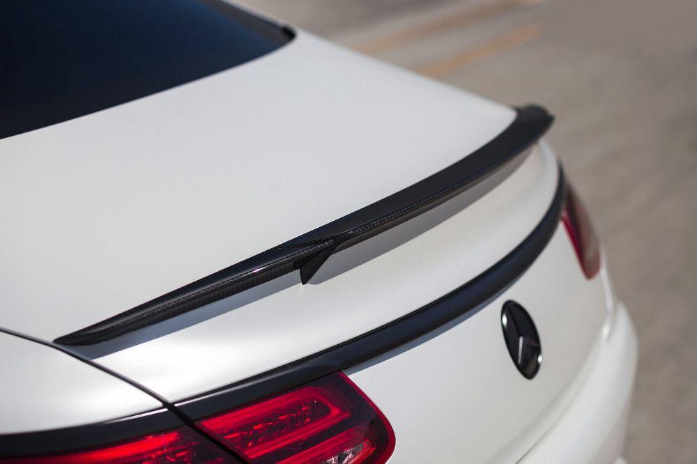 Спойлер багажник карбон BRABUS Mercedes S63 S-coupe C217