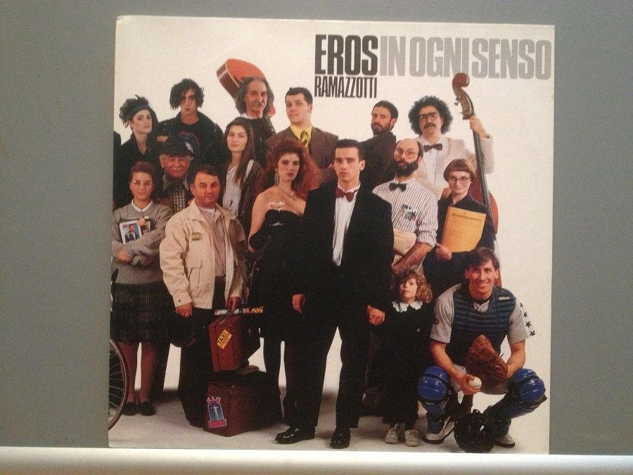 Eros Ramazzotti - In Ogni Senso (1990/BMG/RFG) - Vinil /Impecabil