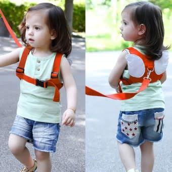 Каишка против загубване на дете - Предпазен колан за разхождане на дет