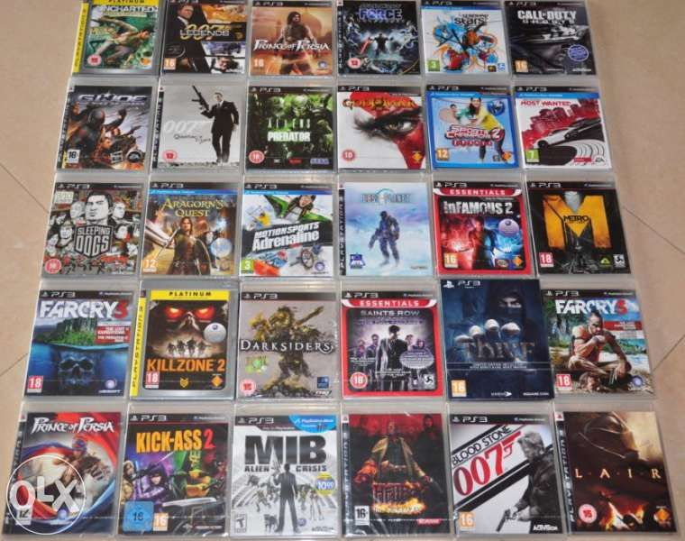Нови Списък 2 игри,ps3,gta,call,assa,wwe,nba,trans,uefa,kill,uncharted