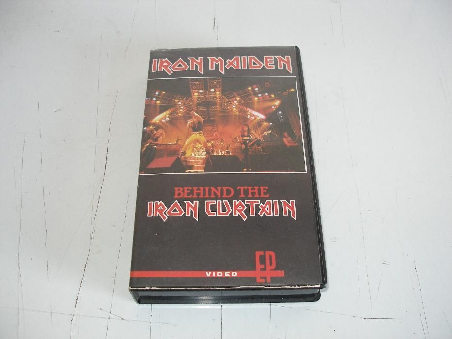 Caseta video originala - Iron Maiden