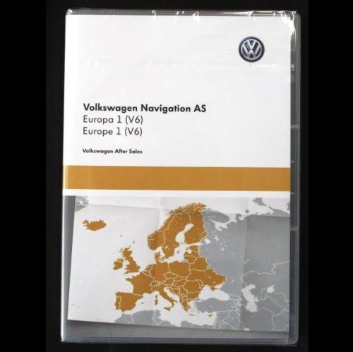 Maps VW Media Discovery MIB 1,2,3 VW skoda seat
