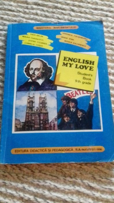English my love