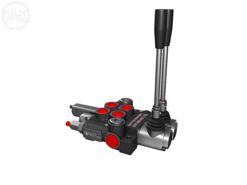 Distribuitor hidraulic 40 l/min 2 sectiuni cu flotant