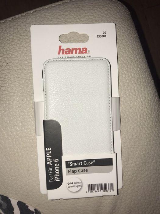 Carcasa de telefon Hama,alba de piele,iPhone 6
