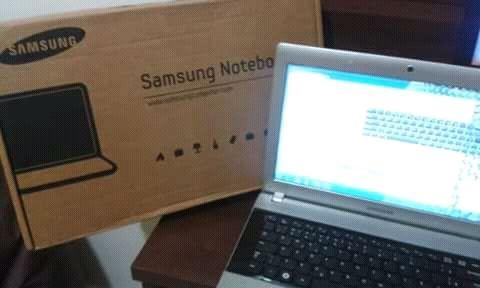 Computador samsung notebook á venda