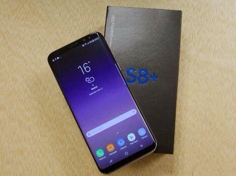 Samsung Galaxy s8+ Dous 64GB novo na caixa selado