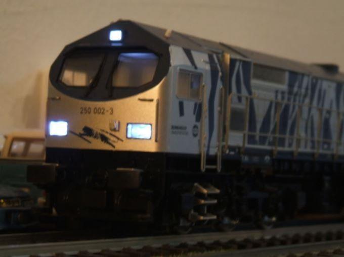 Locomotiva Mehano Prestige Blue Tiger 2 cu sunete H0