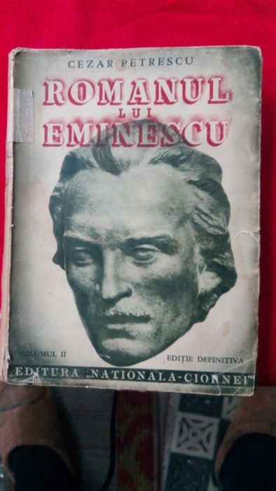 Romanul lui Eminescu-Cezar Petrescu