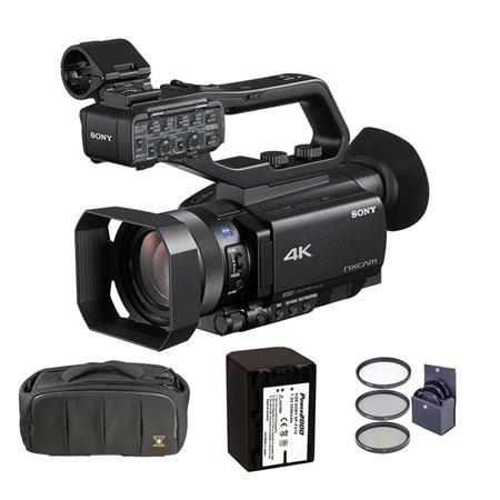 Filmati 4K. Sony NX80, Sony Z150, accesorii foto, camere video