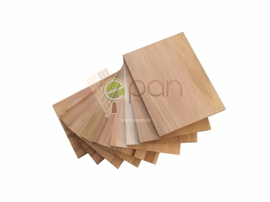 Panouri lamelare din lemn masiv / Panou lamelar / Stejar/Cires/Fag/