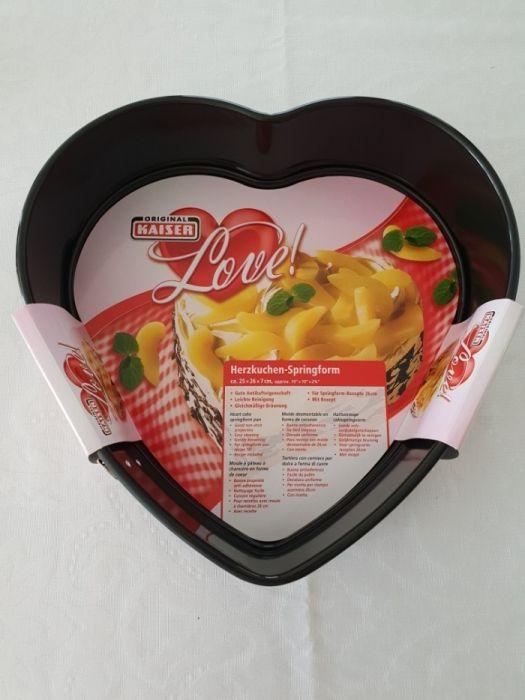Форма для выпечки Сердечко