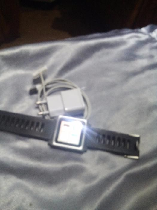 smartwatch ceas apple ipod nano 8gb a 6a gen iphone mc 688 ORIGINAL