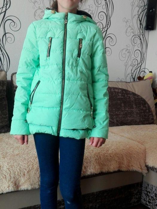 Куртка осенняя подростковая