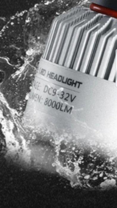 Лед крушки Най-Висок клас S2= LED Н7 H4 H1 H3.НВ3,НВ4,Н8,Н9,Н11 гр. София - image 5