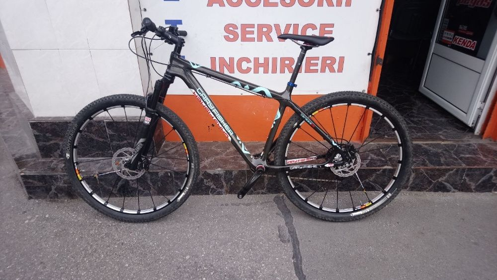 MTB Gary Fisher Superfly carbon + ceas Garmin Fenix 5x Sapphire