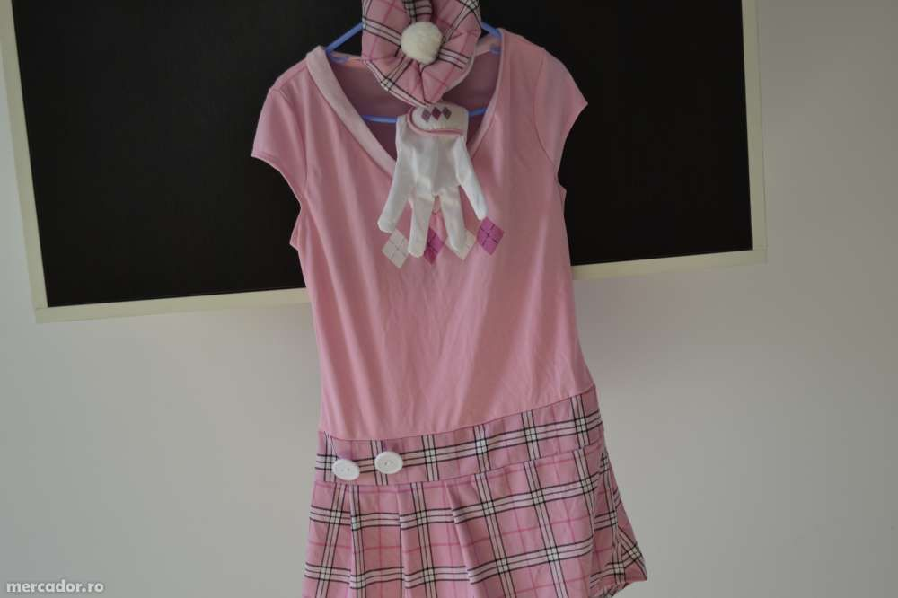 Costum de carnaval halloween serbare rochie golf Stefania