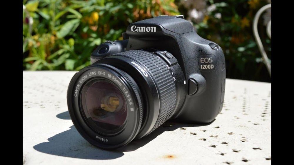 CANON 1200D+Lente de kit Viana - imagem 1