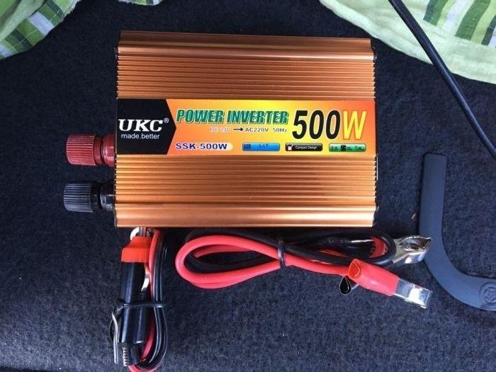 Invertor Curent 24V la curent 220V ( 500W) laptop,tv