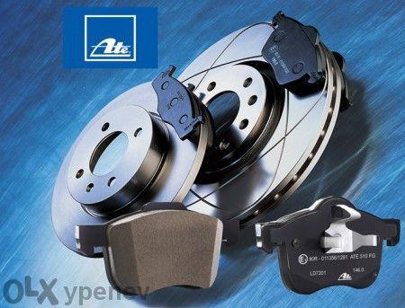Спирачни дискове и накладки Ate Trw за BMW E36 E46 E39 E60 E65 E87 E90