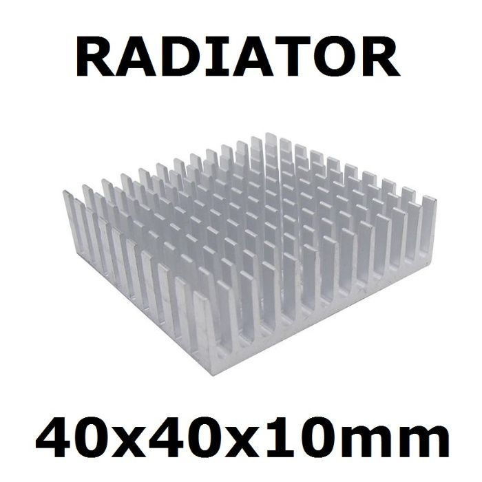 Radiator Chipset 40 x 40 x 10 mm