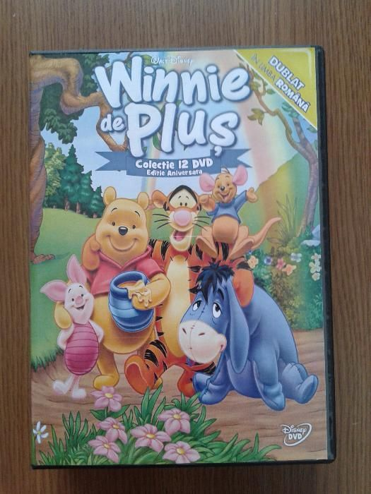 Winnie de plus - 12 dvd -uri desene animate dublate in limba romana