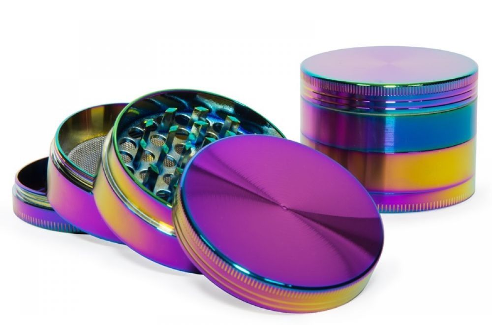 Grinder metal oil colours Icy rainbow effect cameleon 4