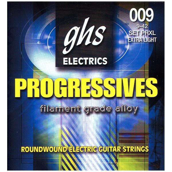 Corzi de chitara electrica GHS Progressives made in USA pret bomba