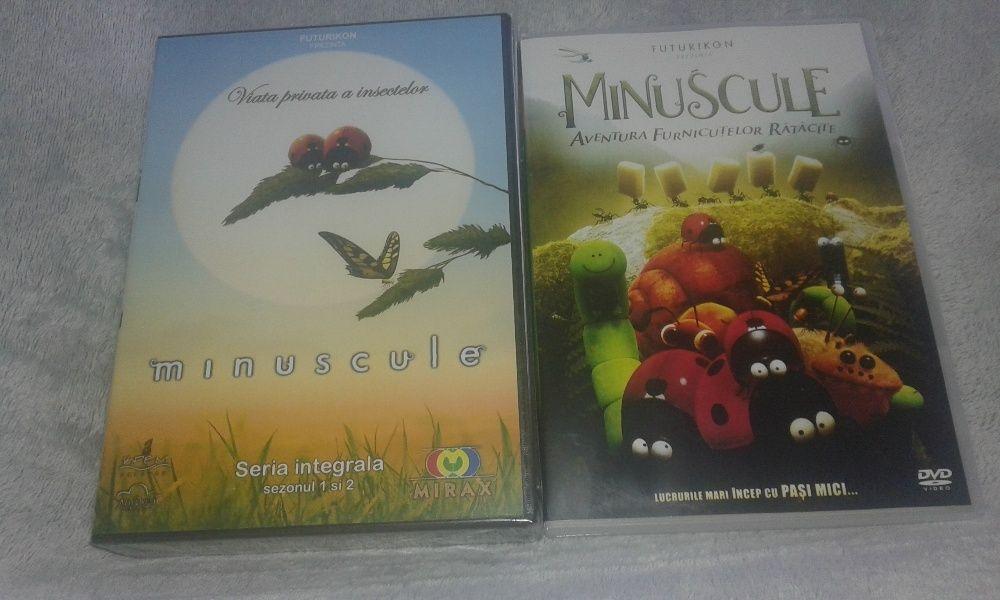 Minuscule - colectie 12 dvd-uri sezon 1 si 2 desene animate + cadou