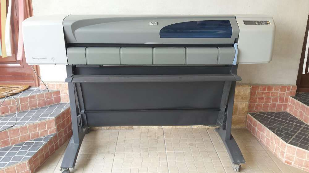 Plotter hp design jet 500 p