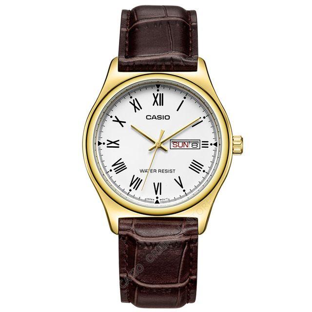 Casio Watch Quartz Gold Men
