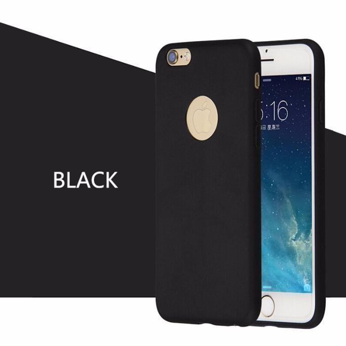 Husa Neagra Iphone 6 6S 6 Plus 6S Plus Slim 0.3mm Anti Zgariere