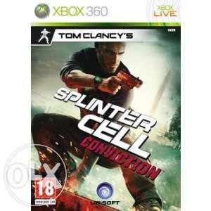 Joc XBOX 360 Game - Splinter Cell Conviction Original
