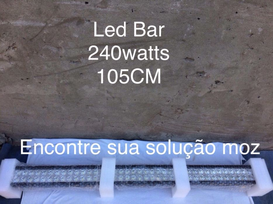 Led Bar 240watts para sua viatura
