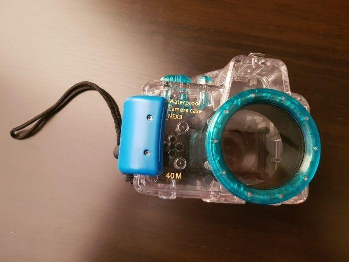 подводный бокс для Sony nex 3