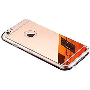 Husa Apple Iphone 6 / Apple Iphone 6S TIP OGLINDA MIRROR ROSE-GOLD