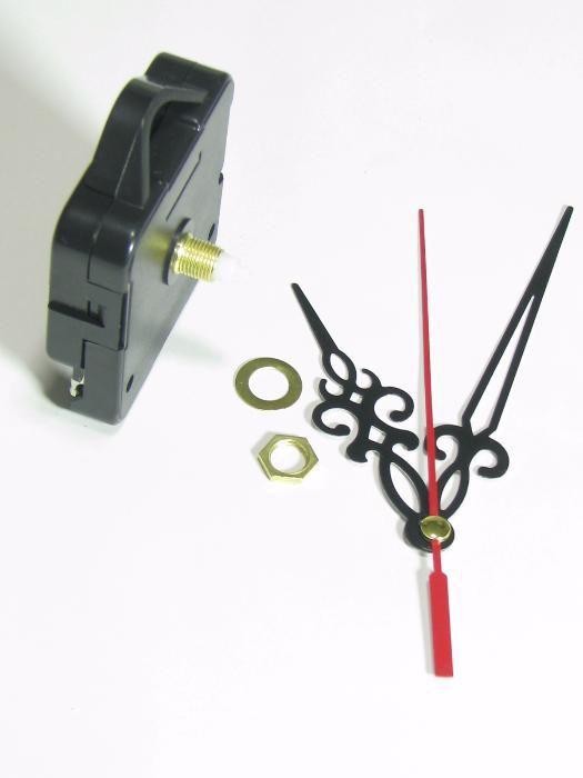 Mecanism ceas de perete ,mers pas cu pas,Ax 3 mm ,si 6,5 mm