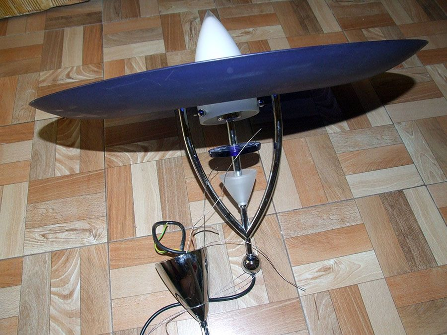 Lustra sufragerie din sticla groasa