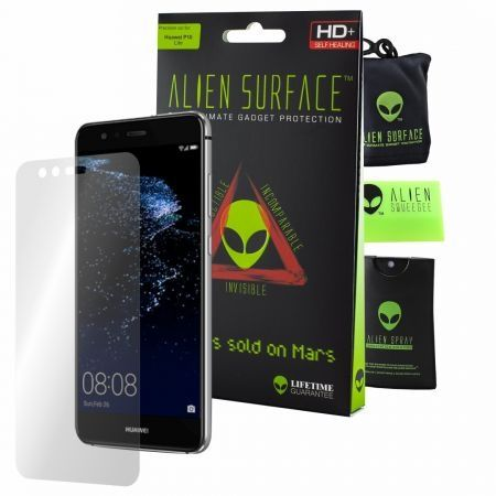 Folie Alien Surface HD, Huawei P10 Lite, protectie ecran + Alien Fiber