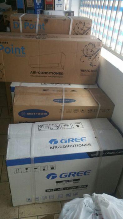 Ar condicionados split Samsung, Westpower, Gree e depoint cm garantia