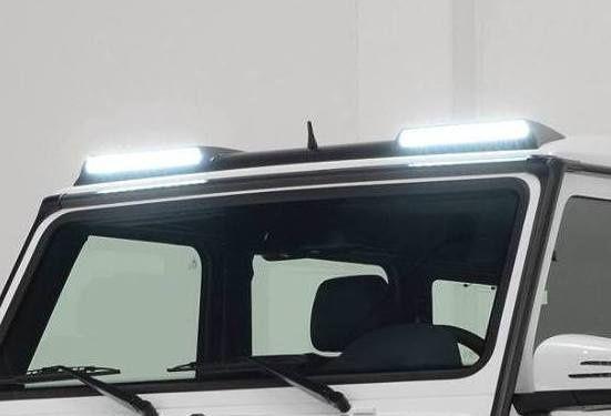 Карбон спойлер + Лед светлини BRABUS Mercedes G / ОРИГИНАЛ
