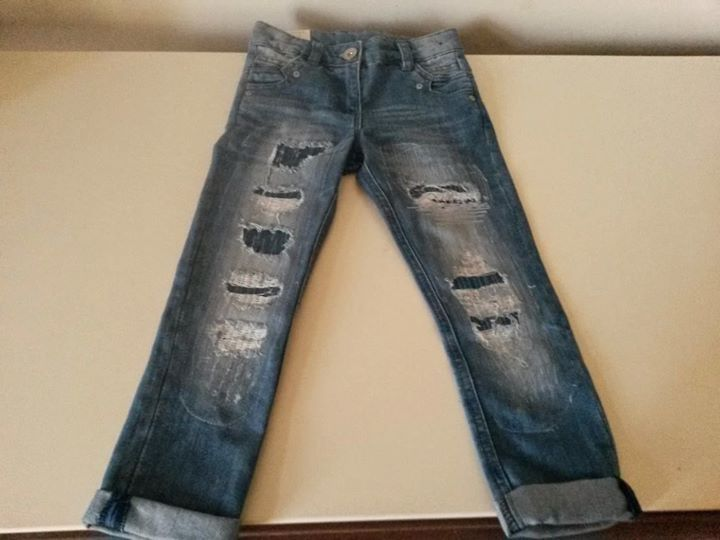 Jeans Distressed 4 ani Next