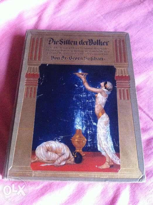 Obiceiurile popoarelor, Die Sitten der Völker, o carte de colectie