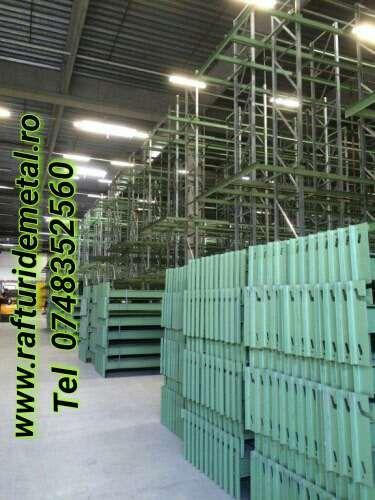 RAFTURI METALICE industriale - depozitare - europaleti Bistrita - imagine 2