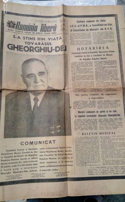 Ziare vechi