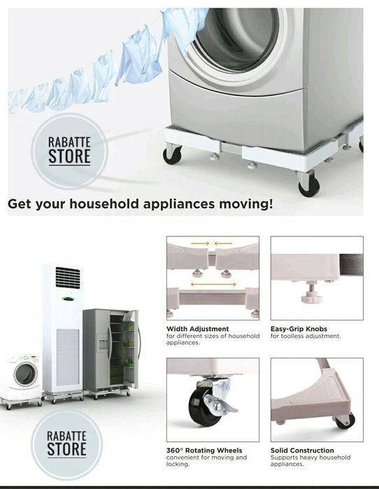 Suport rotile aragaz frigider masina spalat electrocasnice max200kg