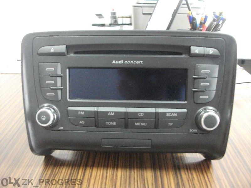 Авто радио с CD Blaupunkt Audi Concert Eutt за Audi Тт 2011г.