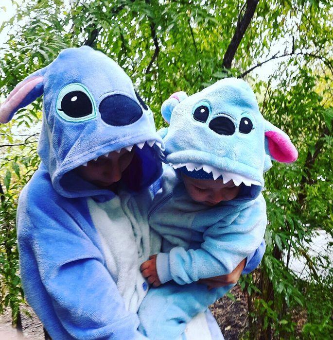 Пижама кигуруми стич stich единорог детская взрослая