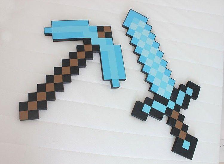 Диамантен меч Майнкрафт кирка Minecraft 30лв. Маинкрафт
