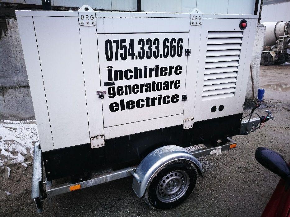 Inchiriere generator (grup electrogen) 35KVA (putere 25Kw) trifazic